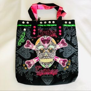 Disney Pirates of the Caribbean Canvas Bag